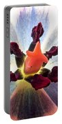 Close Up From A Tulip Flower Portable Battery Charger