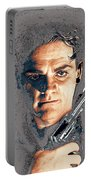 Close Up James Cagney As Gangster  Rocky Sullivan In Angels With Dirty Faces 1938-2008 Portable Battery Charger