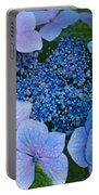 Close-up Of Hydrangea Flowers Portable Battery Charger