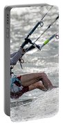 Close-up Of Male Kite Surfer In Cap Portable Battery Charger
