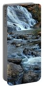 Close Up Of Reedy Falls In South Carolina II Portable Battery Charger