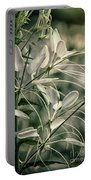 Close Up Wild Flower Portable Battery Charger