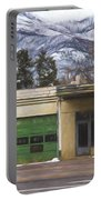 Closed Service Station Painterly Impressions Portable Battery Charger