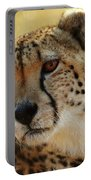 Closeup Of Cheetah Portable Battery Charger