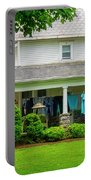Clothes On The Front Porch Portable Battery Charger