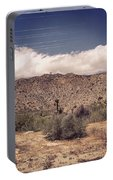 Cloud Blankets Over Joshua Tree Portable Battery Charger
