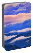 Cloud Layers At Sunset Portable Battery Charger