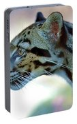 Clouded Leopard Portable Battery Charger