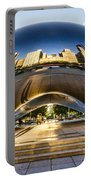 Cloudgate In Chicago Portable Battery Charger