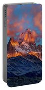 Clouds Around Fitz Roy - Patagonia Portable Battery Charger