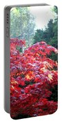 Clouds Of Leaves Portable Battery Charger