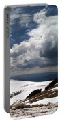 Clouds On The Mountain Portable Battery Charger