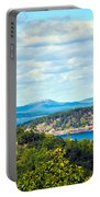 Clouds Over Acadia Portable Battery Charger