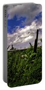 Clouds Over Gettysburg Portable Battery Charger