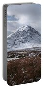 Clouds Over Mountains, Glencoe, Scotland Portable Battery Charger