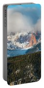 Clouds Receding On Pikes Peak Portable Battery Charger