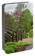 Cloudy Day Garden Stroll Portable Battery Charger