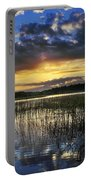 Cloudy Sunrise Portable Battery Charger