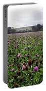 Clover Field Wiltshire England Portable Battery Charger