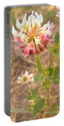 Clover Flower Portable Battery Charger