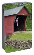 Clover Hollow Covered Bridge 01 Portable Battery Charger