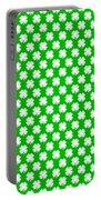 Clover Titled  - Pattern Portable Battery Charger