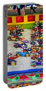 Clown Car Racing Game Portable Battery Charger