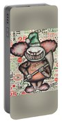 Clown Nightmare Portable Battery Charger