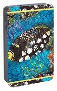 Clown Triggerfish-bordered Portable Battery Charger