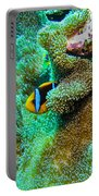 Clown2 With Anemone Portable Battery Charger