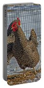 Cluck Dance Portable Battery Charger