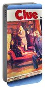 Clue Board Game Painting Portable Battery Charger