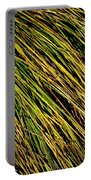 Clump Of Grass Texture Portable Battery Charger