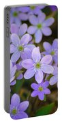 Clump Of Springtime Portable Battery Charger