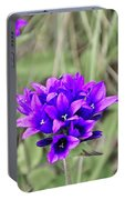 Clustered Bellflower Portable Battery Charger