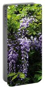 Clusters Of Wisteria Portable Battery Charger