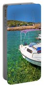 Coast And Beach Of Prvic Island Summer View Portable Battery Charger