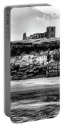 Coast - Whitby Abbey And Church Portable Battery Charger
