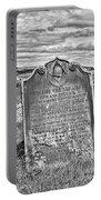 Coast - Whitby Freemason Grave Portable Battery Charger