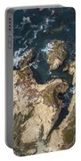 Coastal Crevices Portable Battery Charger