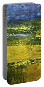 Coastal Marsh View Abstract Portable Battery Charger