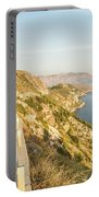 Coastal Road Near Dubrovnik In Croatia Portable Battery Charger
