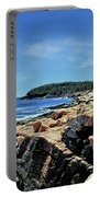 Coastline And Otter Cliff 1 Portable Battery Charger