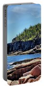 Coastline And Otter Cliff 3 Portable Battery Charger