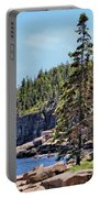 Coastline And Otter Cliff 4 Portable Battery Charger