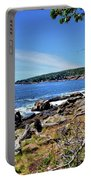 Coastline At Otter Point 1 Portable Battery Charger