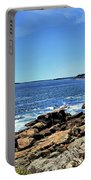 Coastline At Otter Point 5 Portable Battery Charger