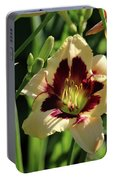 coat and tie Daylily Portable Battery Charger
