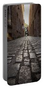 Cobbled Alley Portable Battery Charger