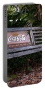 Coca Cola Bench Portable Battery Charger